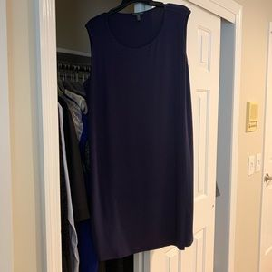 Eileen fisher eggplant colored dress size XL - EUC